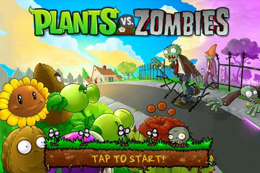 скачать plants vs zombie android