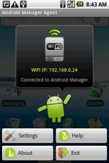 Android sync manager wifi