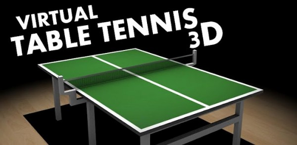 virtual table tennis 3d android