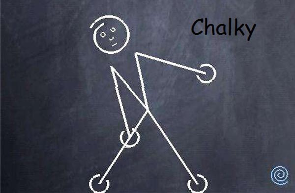 Chalky android