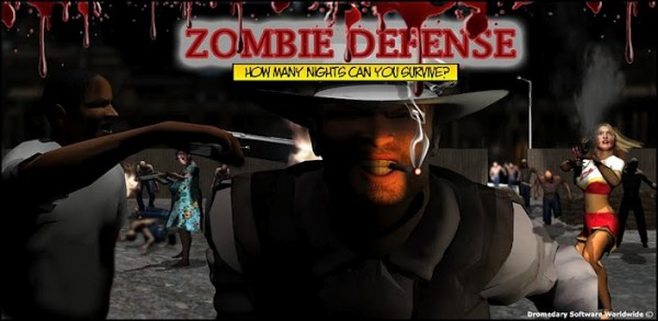 Zombie defense android