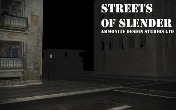Streets of slender android
