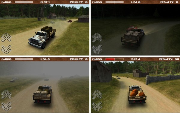 Скачать dirt road trucker 3d для android