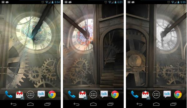 скачать Clock Tower 3D Live Wallpaper для android
