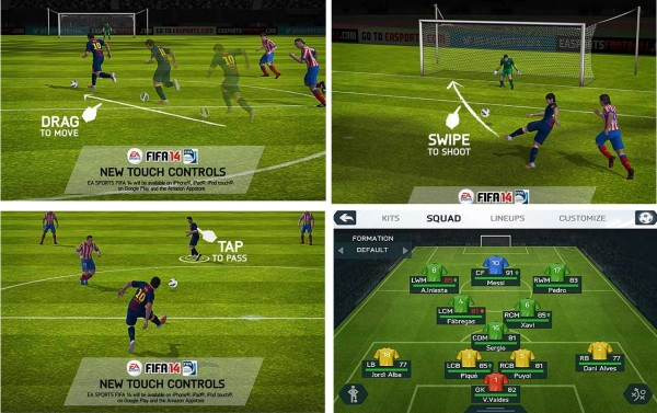 Fifa 14 android.