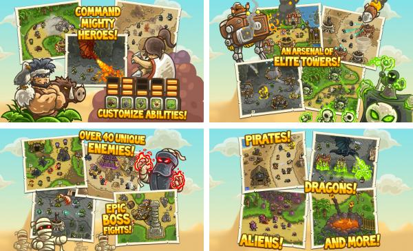 скачать Kingdom Rush Frontiers для android
