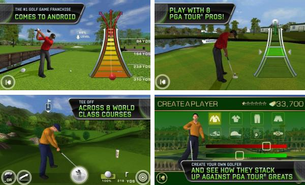скачать Tiger Woods PGA TOUR 12 для android