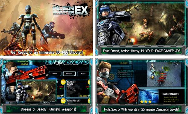 скачать Alien Shooter EX для android