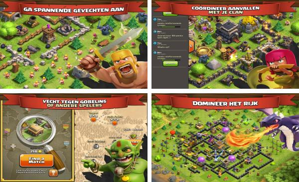 скачать Clash of Clans для android
