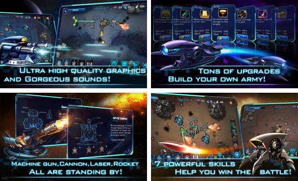 скачать Galaxy Defense для android