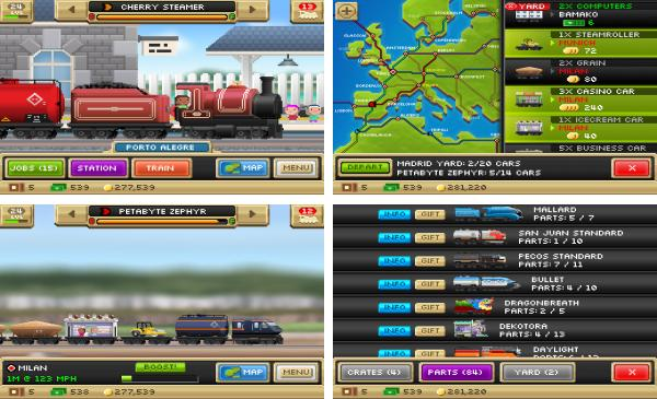 скачать Pocket Trains для android