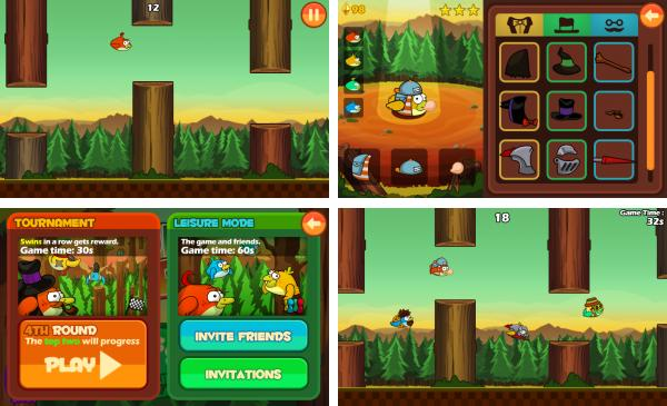 скачать Clumsy Bird для android