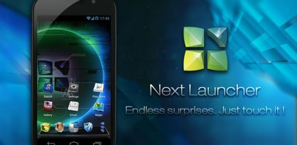 Next Launcher 3D android