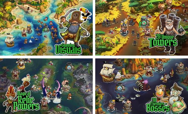 скачать Pirate Legends TD для android
