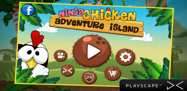 Ninja Chicken Adventure Island android