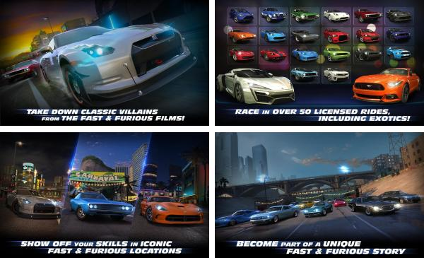 скачать Fast and Furious Legacy для android
