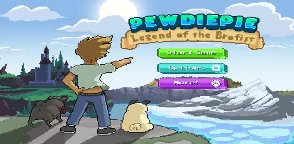 PewDiePie Legend of Brofist android