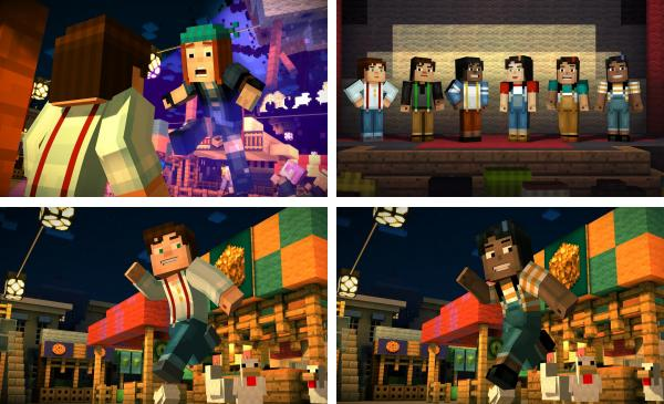 Minecraft story mode trashbox на андроид