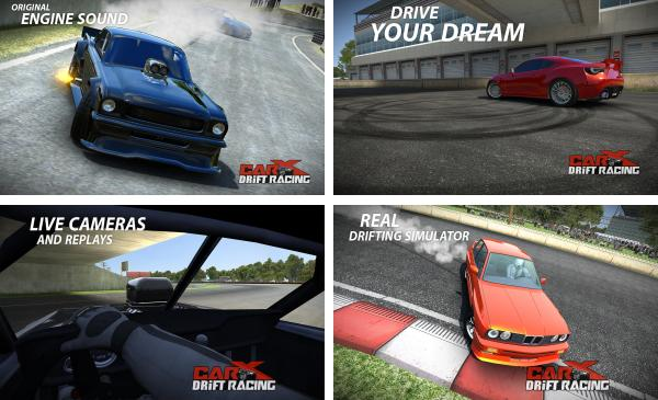 скачать CarX Drift Racing для android