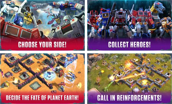 скачать Transformers Earth Wars для android