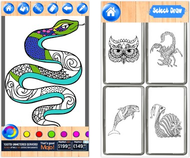 Скачать  Animal Mandala Coloring Book 1.0.0 на андроид