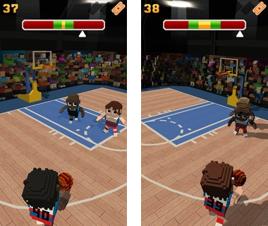 Скачать  Blocky Basketball 1.5.1_134 на андроид
