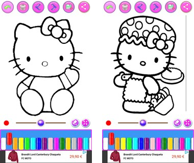 Скачать  Catty Coloring Book 1.0.1 на андроид