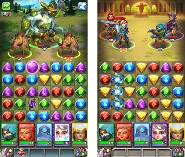 Скачать  Dragon Strike Puzzle RPG 0.1.1 на андроид