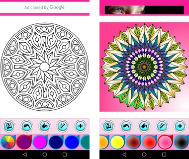Скачать  Mandala Coloring Book 1.0.0 на андроид