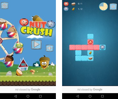 Скачать  Nuts Crazy Crush 1.0.0 на андроид