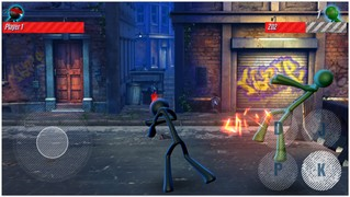 Скачать  Stickman street fight 1.0 на андроид