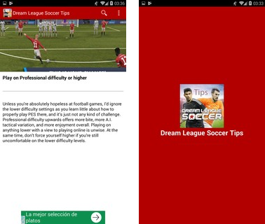 Скачать  Tips for Dream League Soccer 3 на андроид