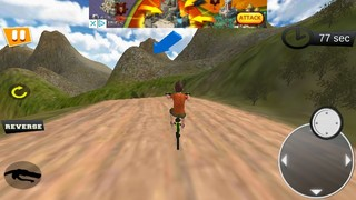 Скачать  Uphill Bicycle Rider BMX Race 1.2 на андроид
