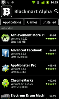 Blackmart android