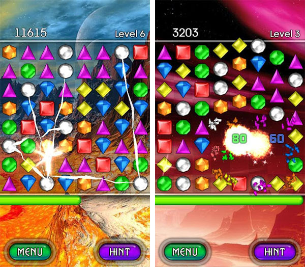 bejeweled android скачать