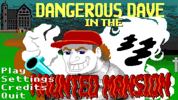 Dangerous Dave In The Haunted Mansion android